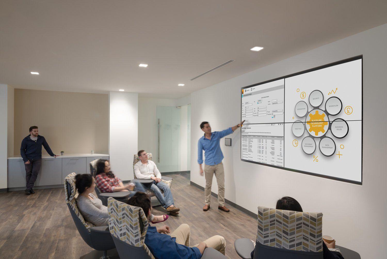 Blackline Offices Los Angeles Office Snapshots Modular Office Furniture Loft Interior Design Open Concept Home