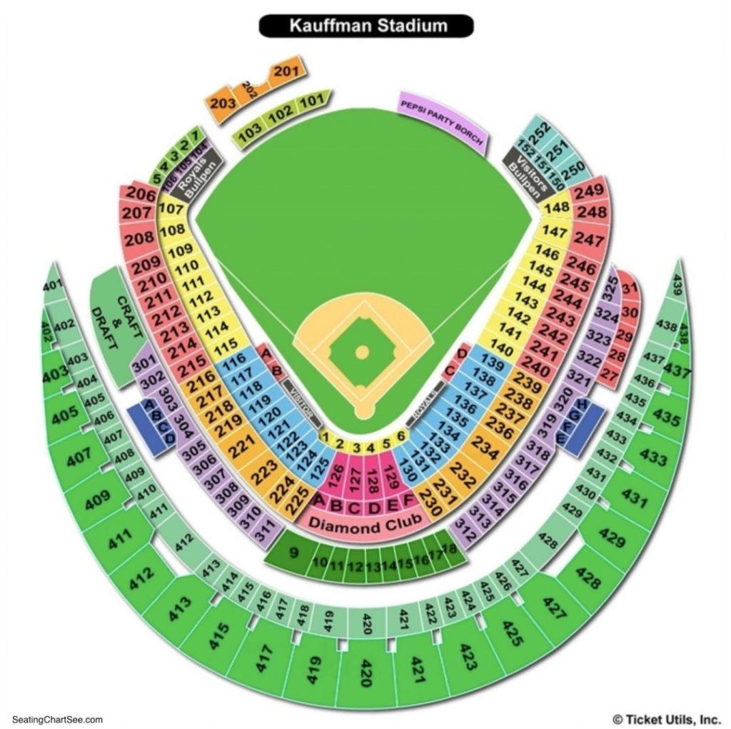Royals Stadium Seating Charts Kc Royals Soldier Field Seating
