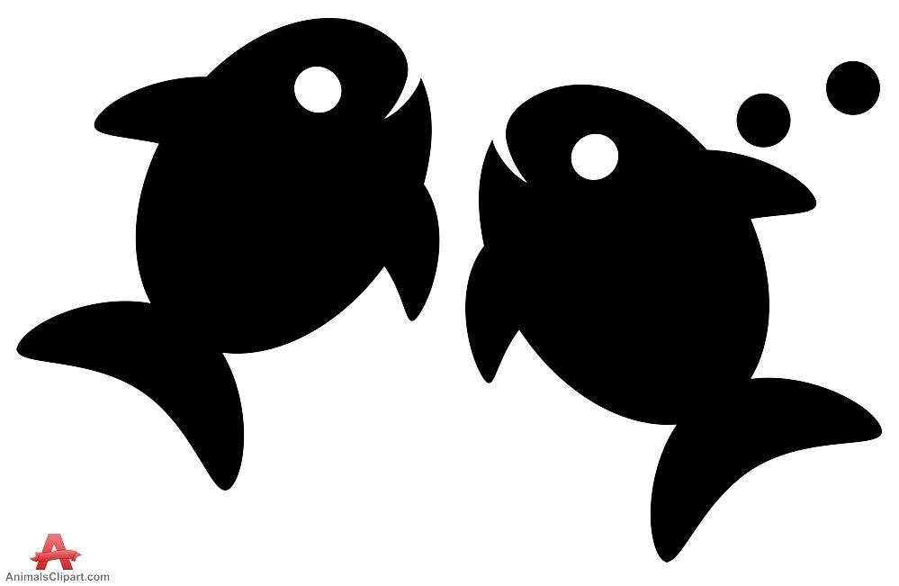 Silhouette Of Fish Swiming Fish Silhouette Rock Painting Designs Animal Silhouette