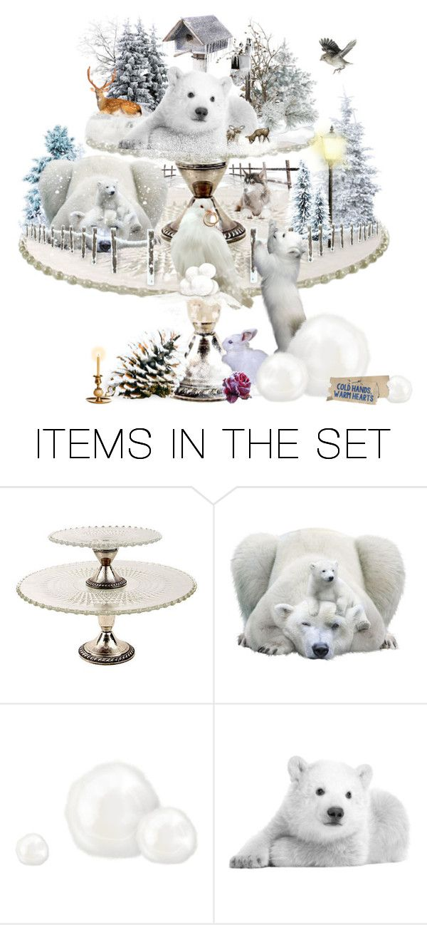 """""""Winter Plate"""" by didesi ❤ liked on Polyvore featuring art"""