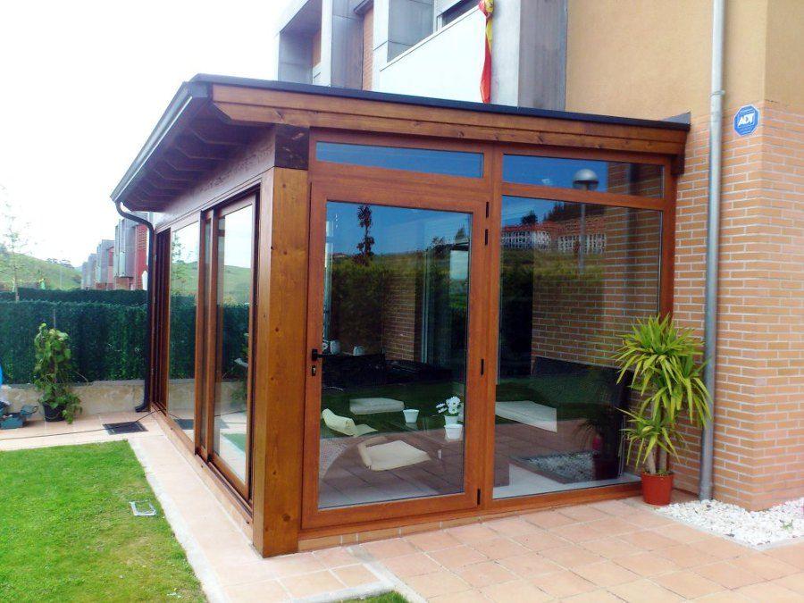 Porche de madera jardin pinterest porches cerrados cerramiento porche y porches Porche jardin madera