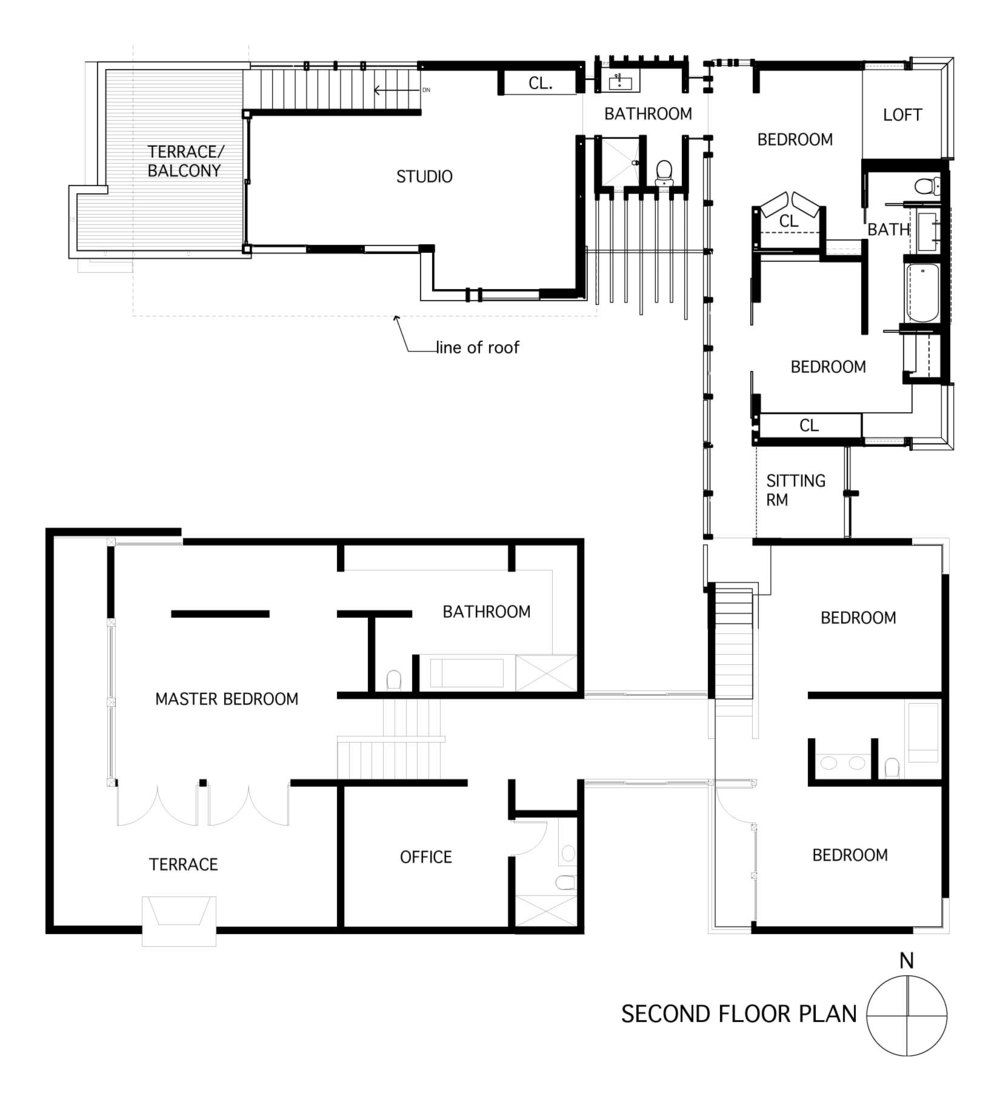 second floor plan1 jpg spatial architecture pinterest house