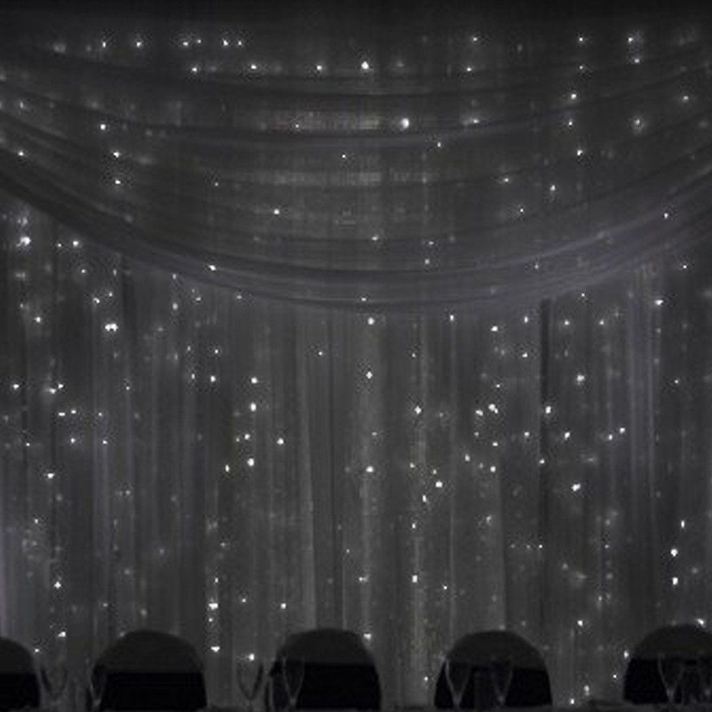 20ft X 8ft Black Chic Inspired Backdrop Curtain Backdrops For