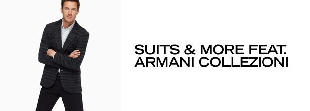 Suits & More feat. Armani Collezioni There are a few key pieces every man needs to round out his wardrobe (aside from beloved T-shirts and jeans of course). A smartly tailored suit. A dapper blazer. Crisp button-up shirts. Here, you'll find a wide selection of distinguished pieces that will make looking like a proper... - http://pusatbajugrosir.com/suits-more-feat-armani-collezioni/
