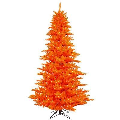Artificial Christmas Trees 117414 75 X 52 Orange Fir Artificial