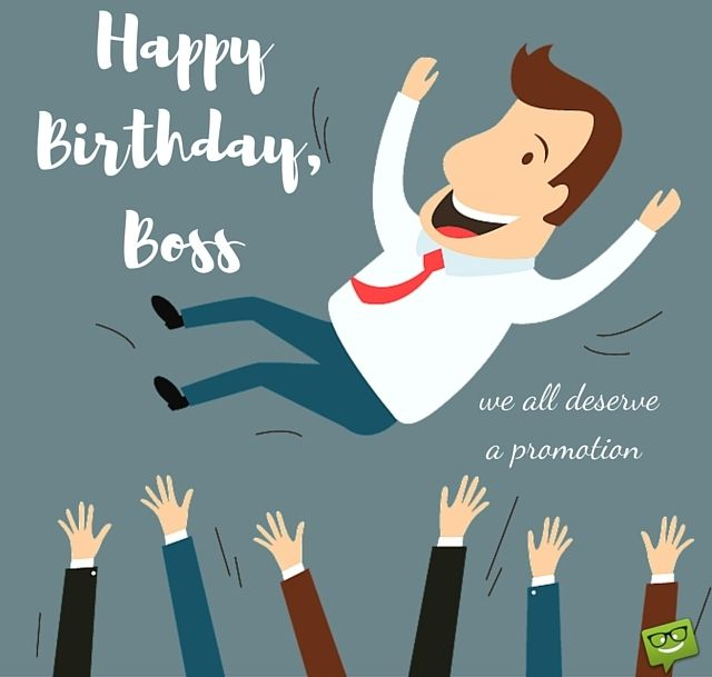 Birthday Wishes For Boss Man ~ From sweet to funny birthday wishes for your boss