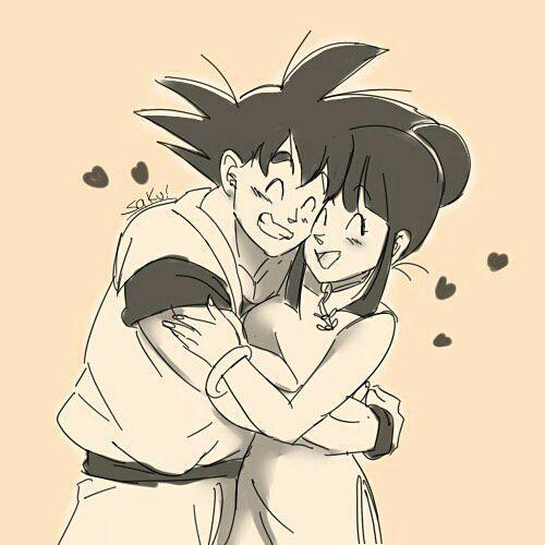Imagenes Y Videos De Goku Y Milk Gochi Dibujos Imagenes De Goku Goku Y Bulma