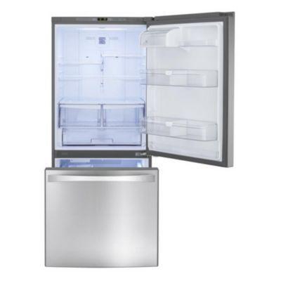 2 Door Bottom Mount Refrigerator   Sears   Sears  Apartment Refrigerator Sears