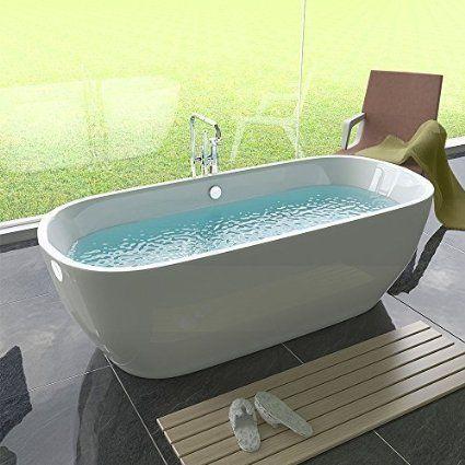 Freistehende Badewanne Badezimmer Standbadewanne Design Badewanne
