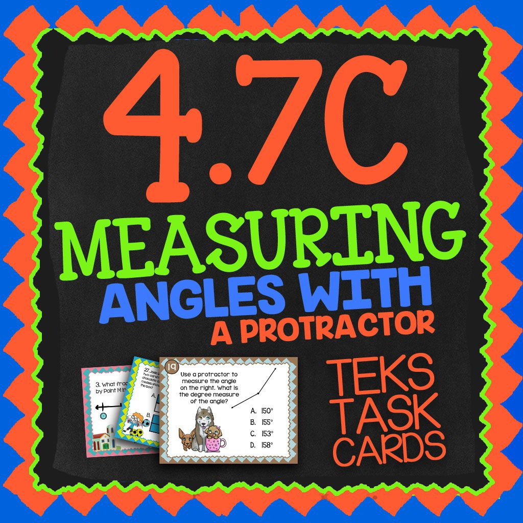 Math Tek 4 7c Measuring Angles With A Protractor 4th