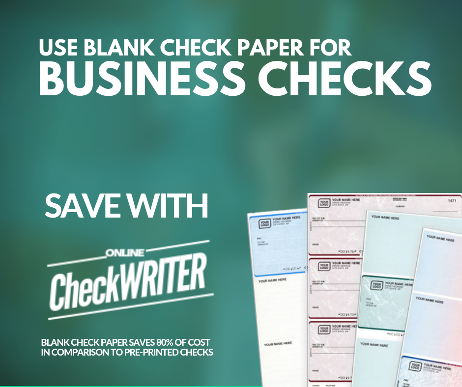 Business checks - Make professional checks instantly and