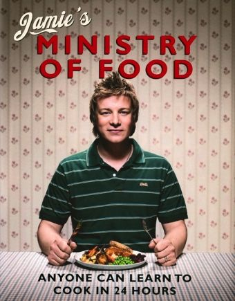 Healthy cooking with Jamie Oliver