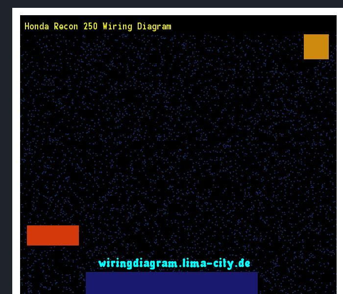 Honda Recon 250 Wiring Diagram  Wiring Diagram 17544