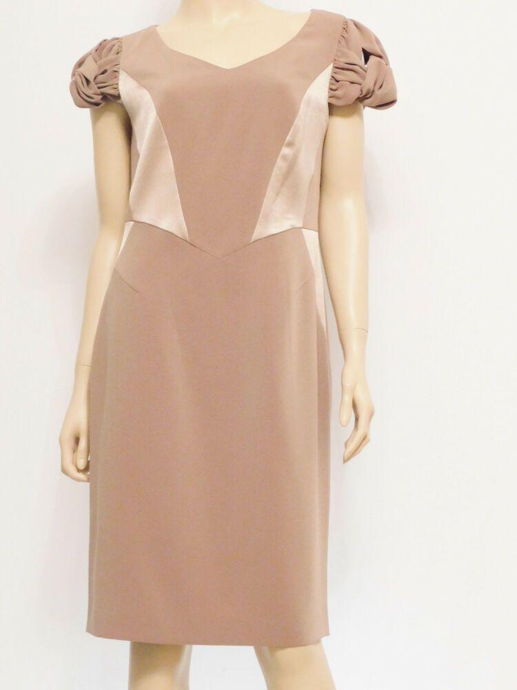 e5136ff29bb Cocktailkleid Abendkleid Stretch Luxuriös Knielang Kurzarm Gr 40 42 44 46  damen   kleider  trend  freu  mode