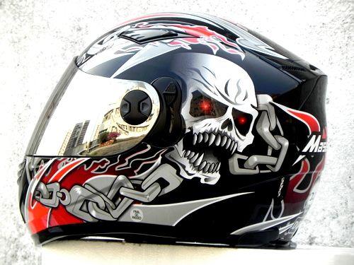 Masei 830 Black Motorcycle Helmet Free Shipping
