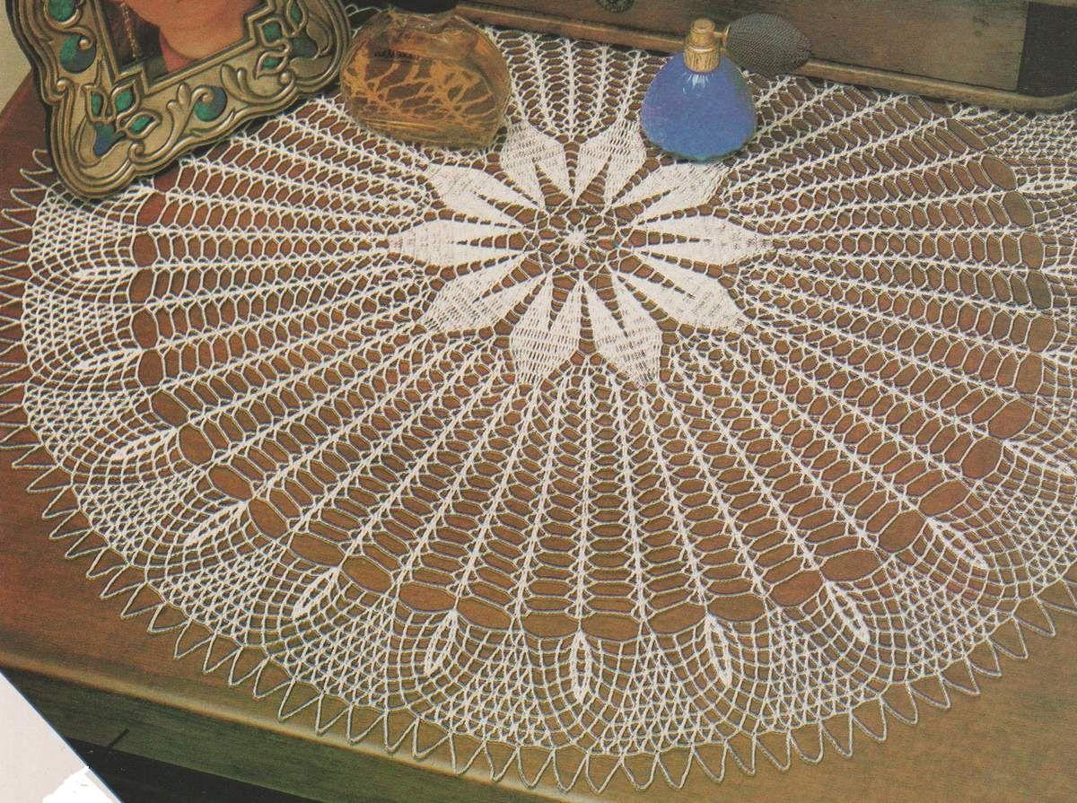"""CROCHET : grand napperon rond """"Giroflée"""" TUTORIEL GRATUIT - Blog de crochet et tricot d'art de ..."""