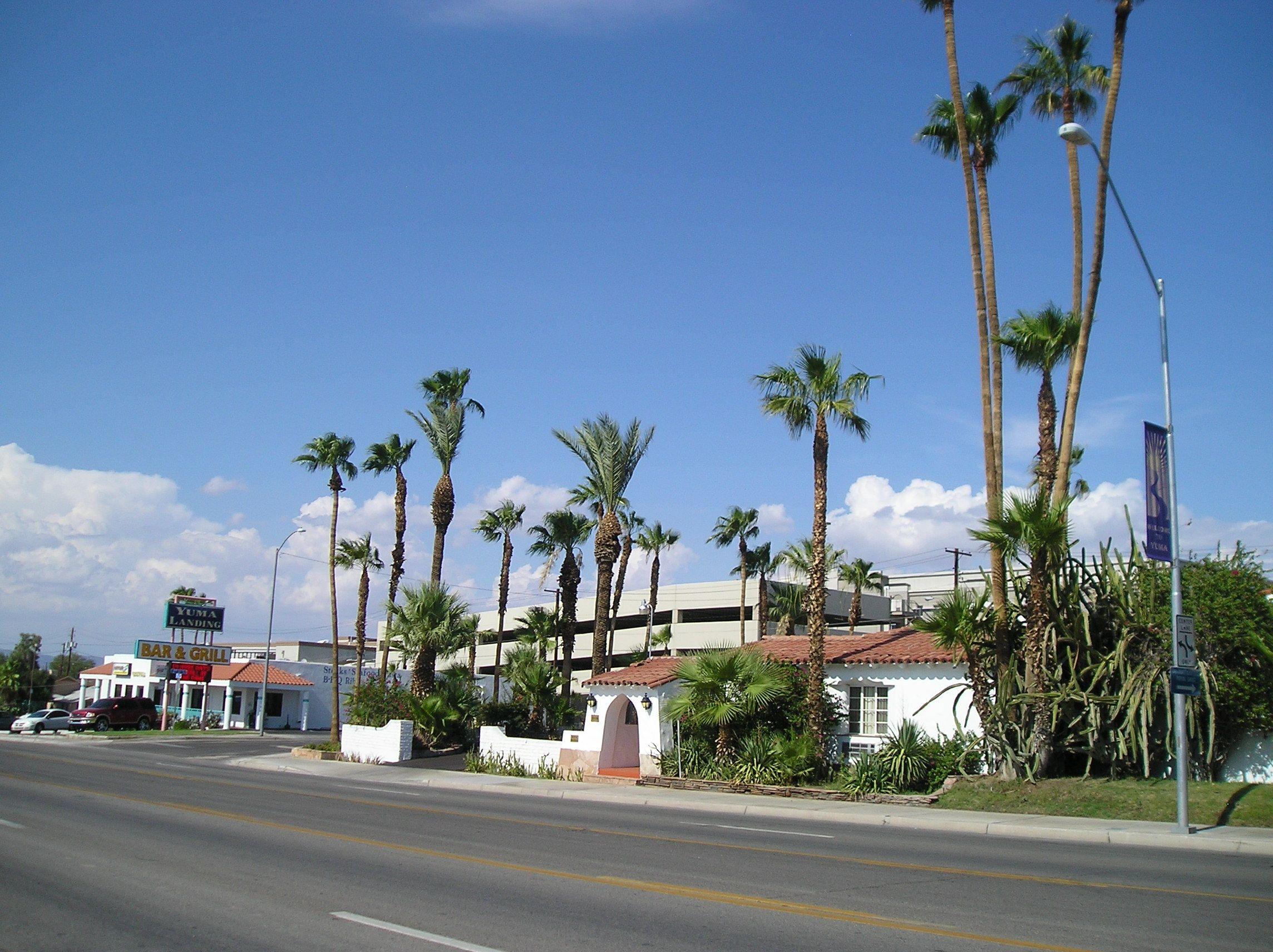 Historic Coronado Motor Hotel Built 1938 Yuma Arizona Hotel Building Historical Sites Yuma