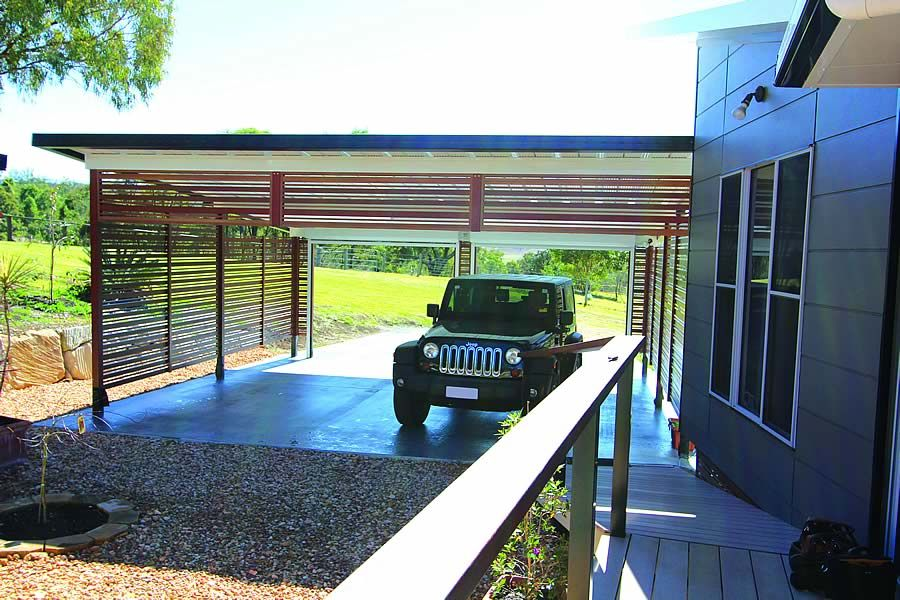 Carport designs attached house projects to try for Carport designs attached house