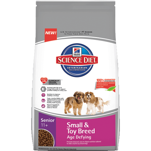 Hill's® Science Diet® Senior 11+ Small & Toy Breed Age