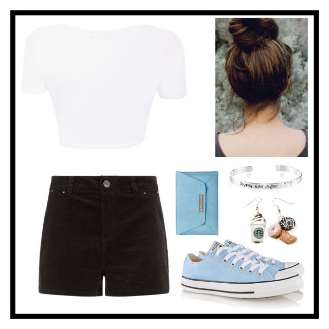 """Untitled #157"" by abigailsierraj ❤ liked on Polyvore featuring Converse, Disney and Joy Gryson"