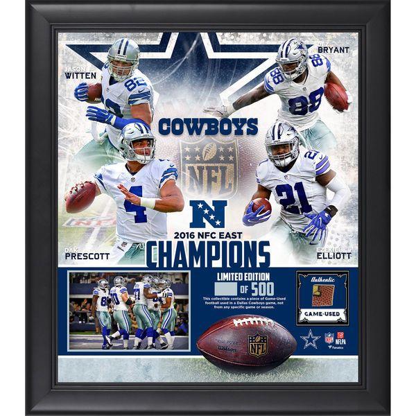 "Dallas Cowboys Fanatics Authentic Framed 15"" X 17"" 2016"
