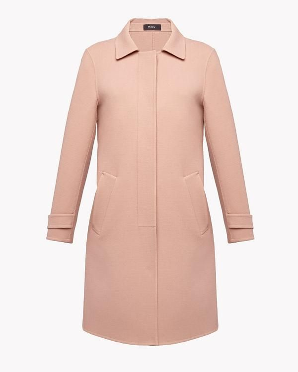 Theory Official Site | Women's Outerwear | Minimalistic comfort ...