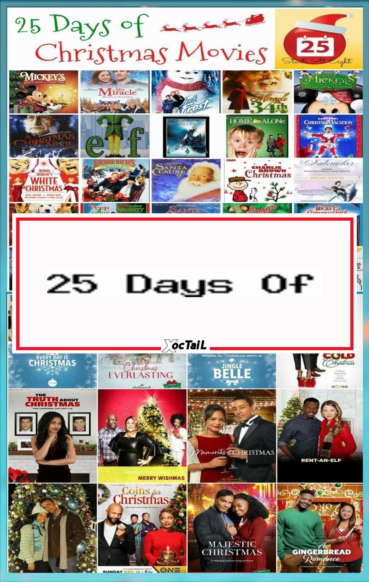 25 Days Of Christmas Movies With Free Printable List In 2020 Hallmark Channel Christmas Movies Kids Christmas Movies Animated Christmas Movies