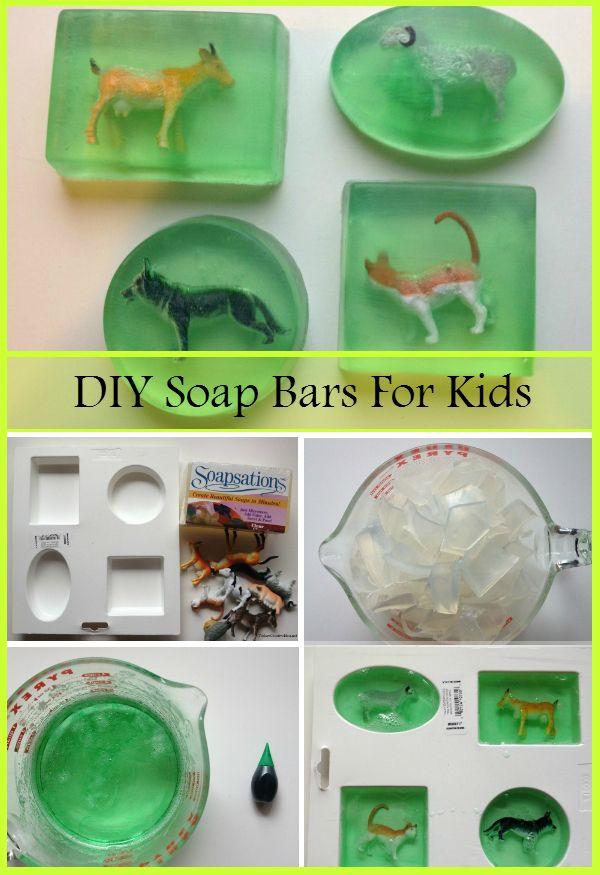 DIY Soap Bars Ideas For Kids