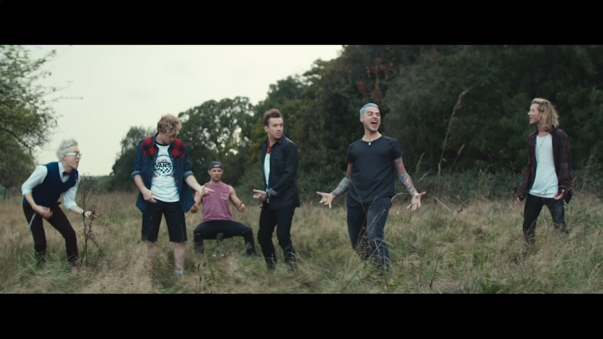 Air Guitar Video - McBusted