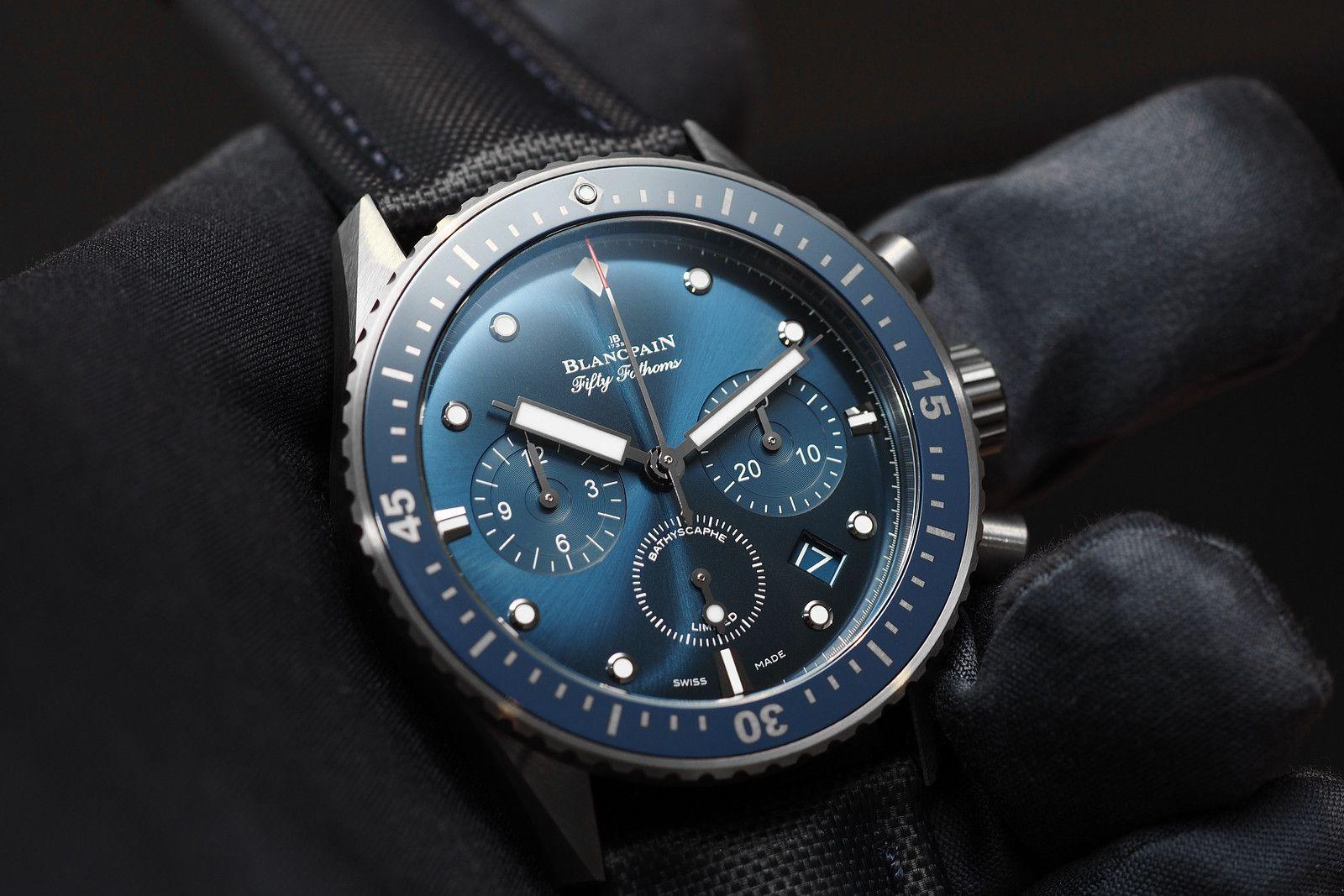 Blancpain Bathyscaphe Chronograph Flyback Ocean Commitment