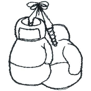 Boxing Gloves Coloring Pages | Tattoos | Clips