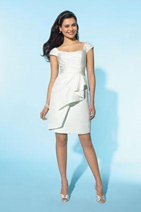 Short Wedding Dress For Casual Wedding. Perfect!