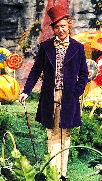 Willy Wonka And His Walking Stick Wilder Walking Sticks Epic