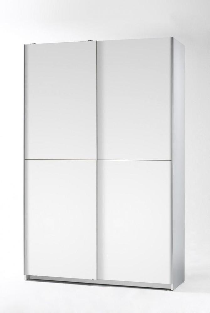 schiebet renschrank aladin kleiderschrank mit vielen f chern weiss ebay nur 38 cm tief 1m 1. Black Bedroom Furniture Sets. Home Design Ideas