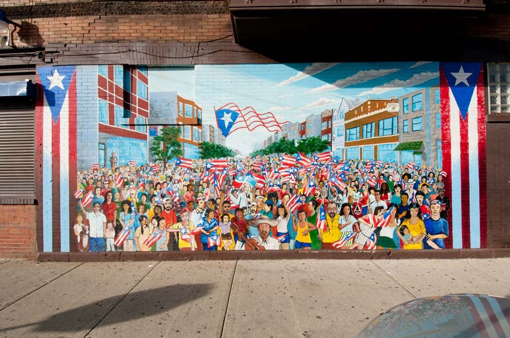 Humboldt park neighborhood chicago il puerto rican for Mural in chicago illinois