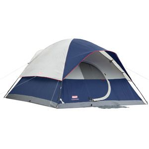 Coleman Tent 12x10 Elite Sundome 6 Person With Led Lighting Walmart Com Coleman Tent 6 Person Tent Family Tent Camping