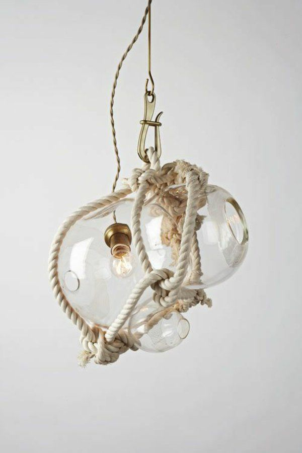 Spectacular h ngelampe kugel glaskugel lampen deckenlampen seil