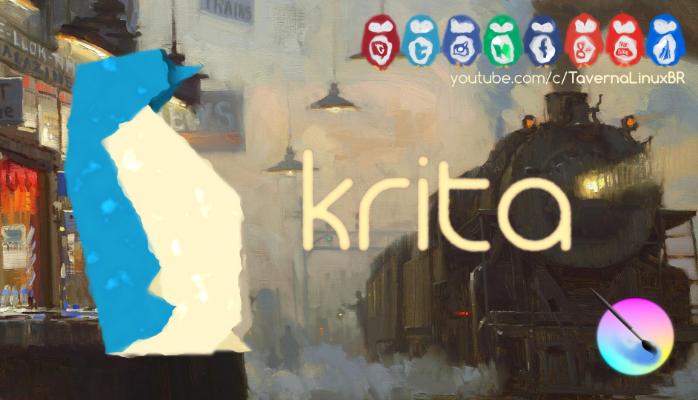 Krita - Editor e Criador de Ilustrações e Pinturas Digitais | Instalação e Review