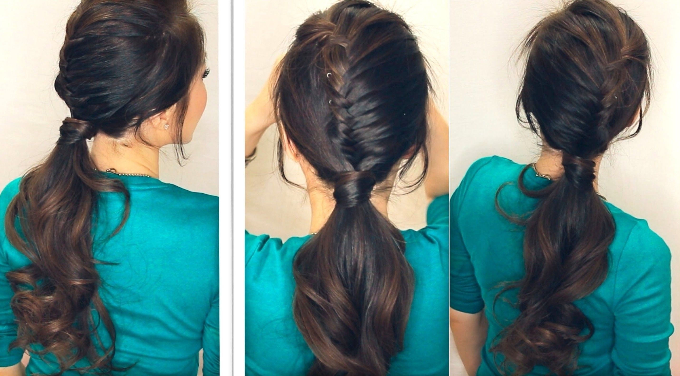 hairstyle of girls at home good style simple simple