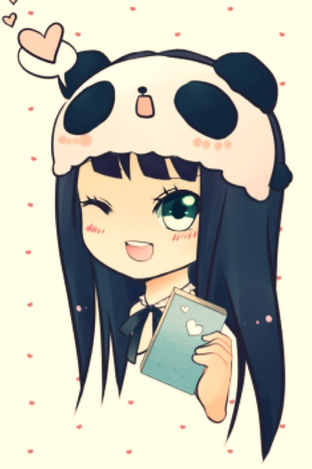 Her Name Is Pan She Is 13 She Grew Up With Pandas Till Age 6 Cause Someone Found Her During A Expedition On Pandas But D Anime Chibi Kawaii Anime Panda Drawing