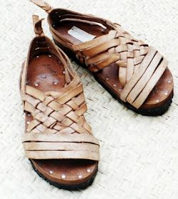 58a6c8696 Huarache Tarasco (Kuarachi) I remember my abuelito wearing these, and my  sisters and I would get these as gifts everytime we visited from our family.