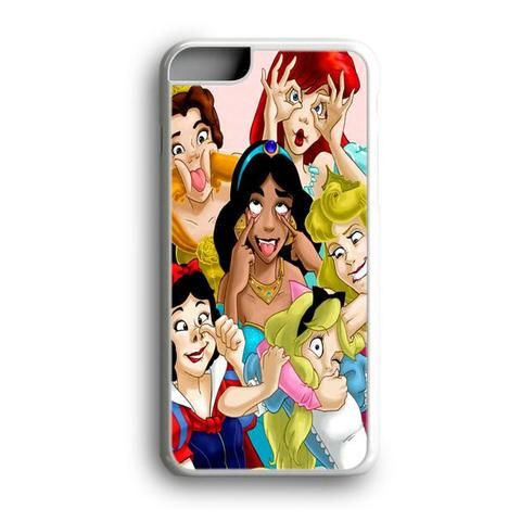 Disney Princess Silly Faces iphone case