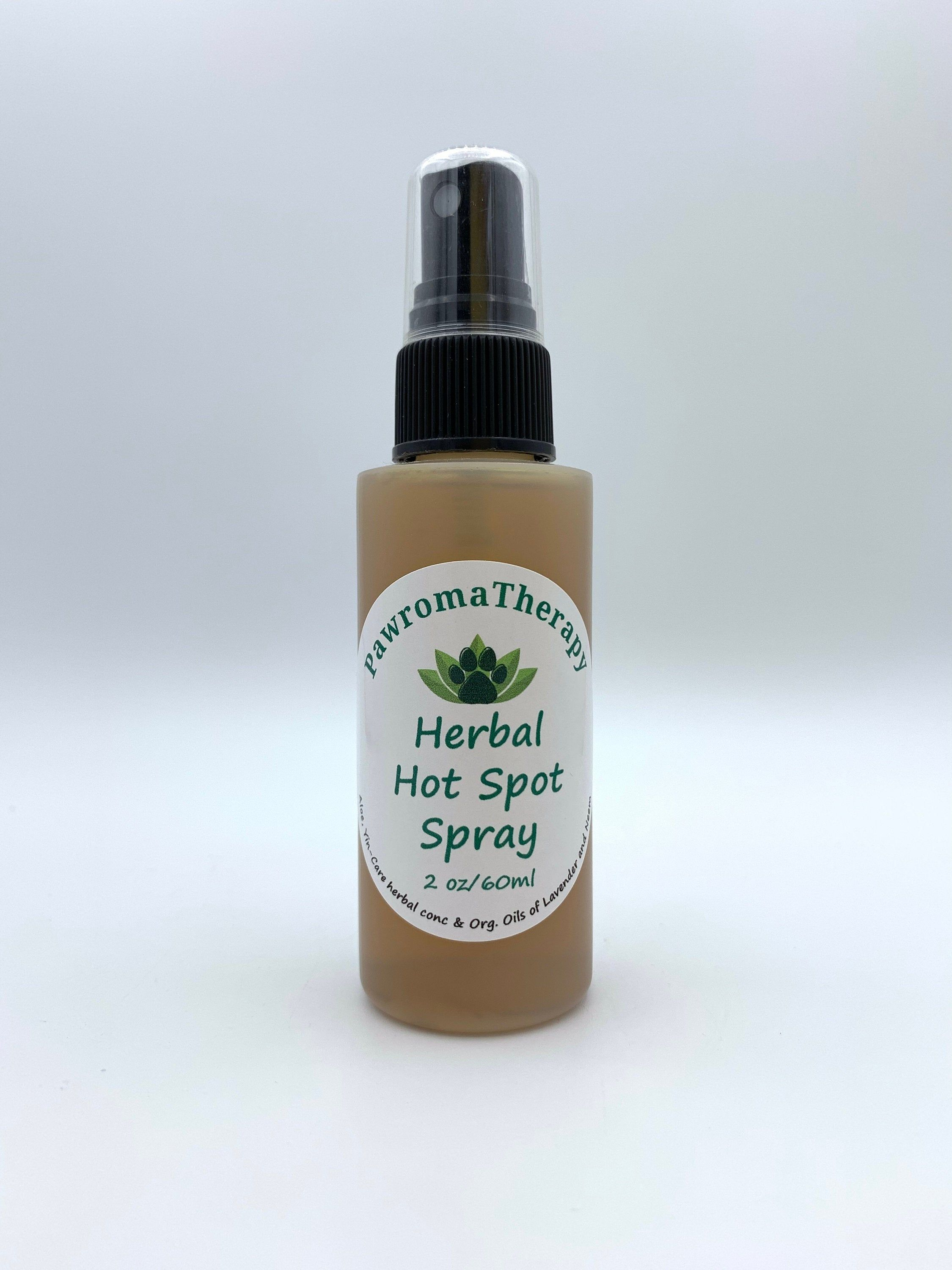 All Natural Herbal Hot Spot Spray for Dogs and Cats, Pet