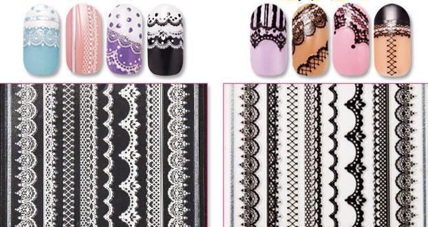 Etude House Lace Nail Art Sticker