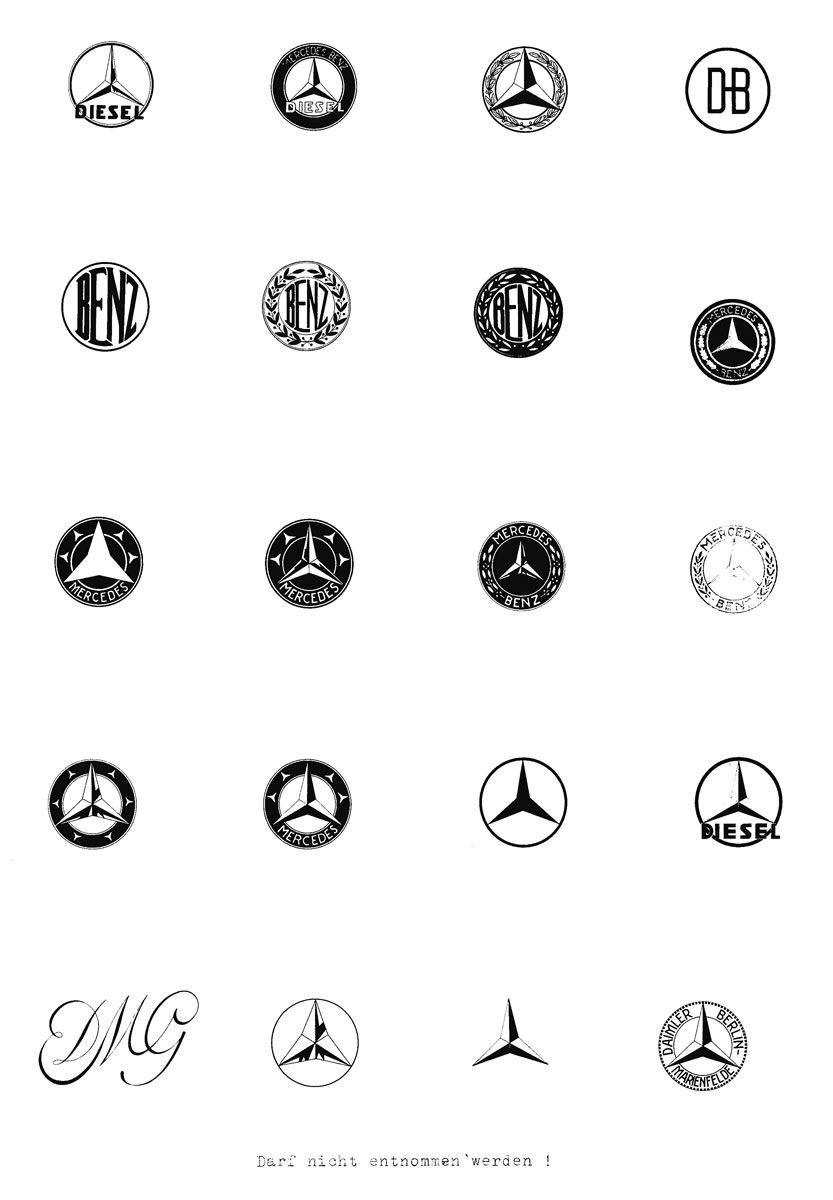 Mercedes Benz History Logo With Images Mercedes Benz Logo