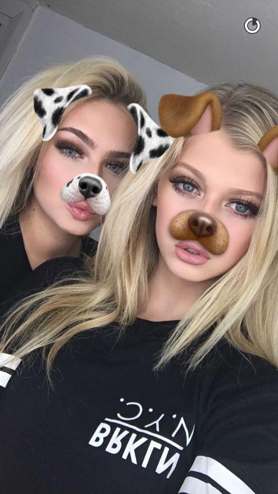Hot girl snapchat filter