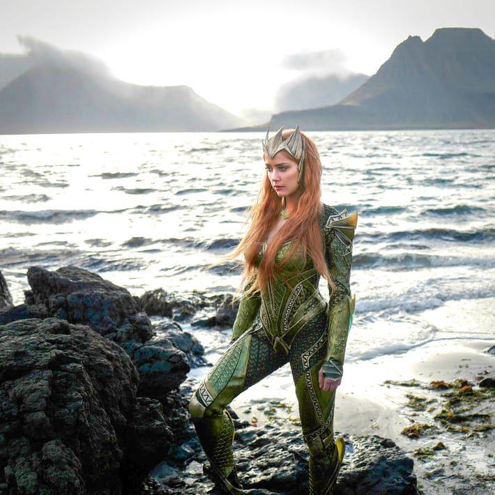 New Jason Momoa And Amber Heard Aquaman Image: DCEU Cast Of Actors, Actresses