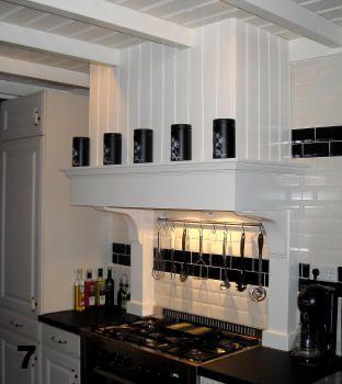 Schouw afzuigkap maken keuken ideeen ridders en kastelen pinterest afzuigkap keuken en - Deco land keuken ...