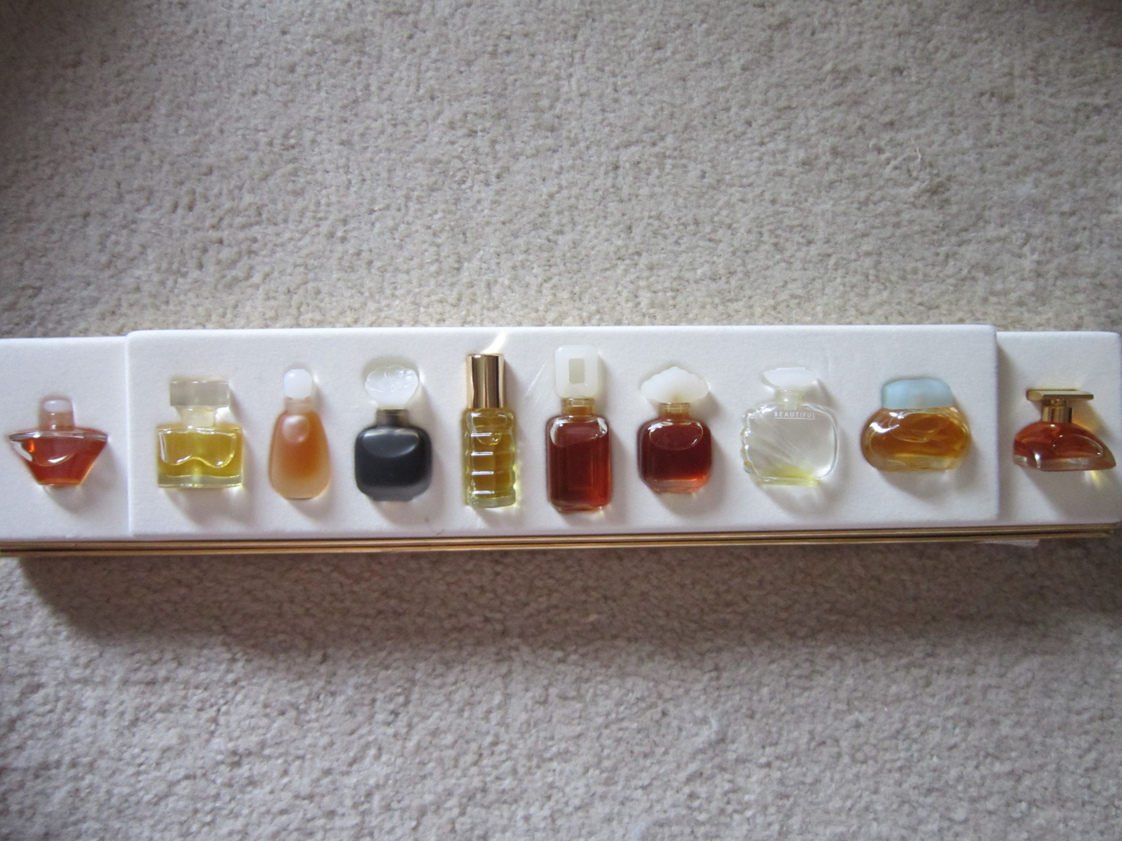 Miniature Perfume Bottles Estee Lauder Fragrance