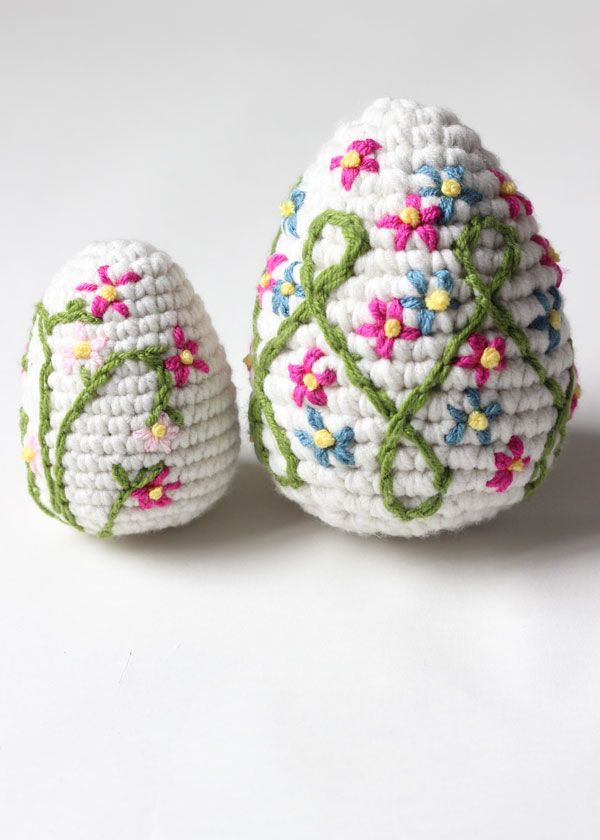 Some More Crochet Easter Eggs | Easter Ideas Craft/Food | Pinterest